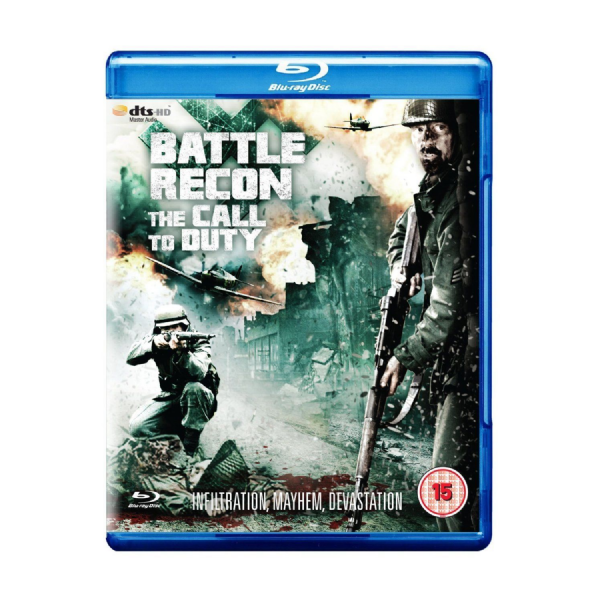 Battle Recon - Call To Duty (Blu-ray, 2012) new and sealed